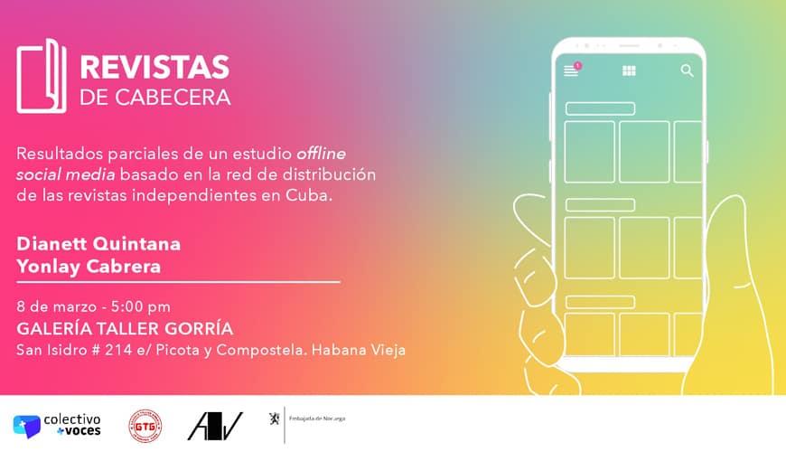 Presentación del proyecto «Revistas de cabecera»