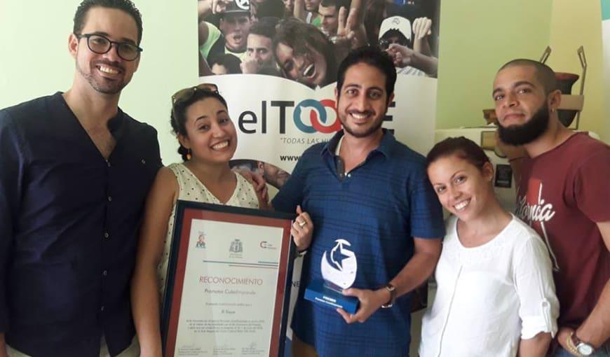 elTOQUE es premiado por visibilizar el emprendimiento en Cuba